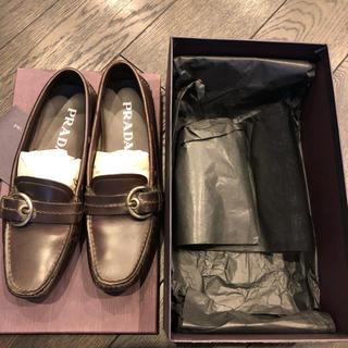 プラダ(PRADA)のお値下げ❣️プラダ シューズ ローファー 35 (ローファー/革靴)