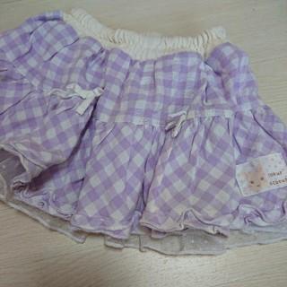 クーラクール(coeur a coeur)のクーラクール☆リバーシブルスカート 80(スカート)