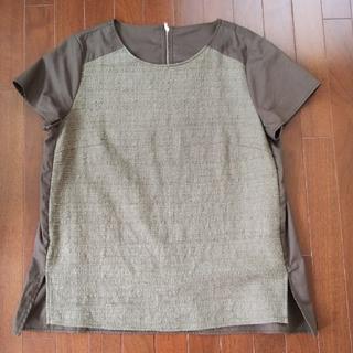 ソゴウ(そごう)のカットソー 40 リミテッドエディション カーキ 半袖 トップス そごう 西武(Tシャツ(半袖/袖なし))