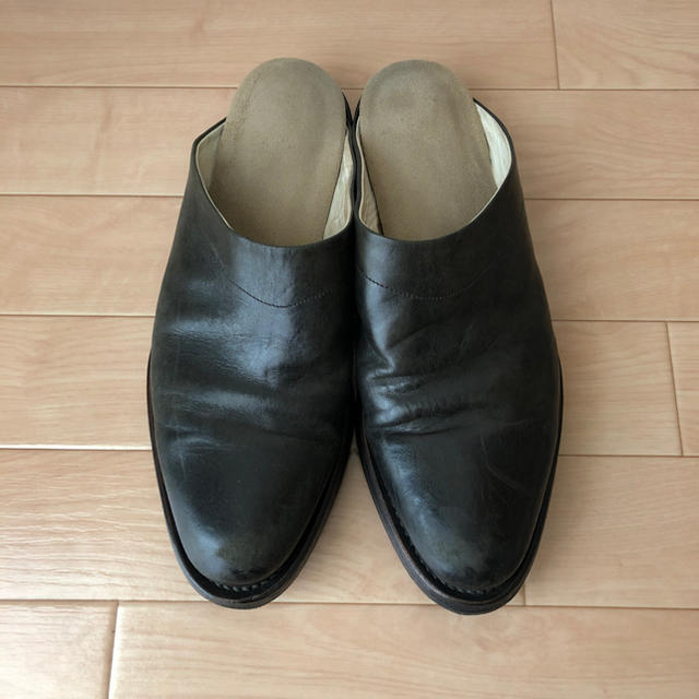 Paul Harnden(ポールハーデン)のCHEREVICHKIOTVICHKI ホースレザー バブーシュ メンズの靴/シューズ(サンダル)の商品写真