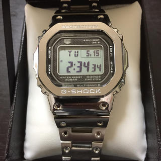 ジーショック(G-SHOCK)の【極美品】GMW-B5000D-1JF G-SHOCK 35周年記念モデル(腕時計(デジタル))