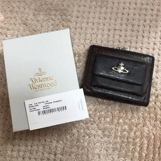 ヴィヴィアンウエストウッド(Vivienne Westwood)のヴィヴィアン 財布 中古 皮財布 ブラウン(財布)