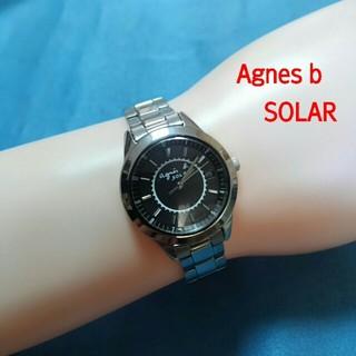 アニエスベー(agnes b.)のアニエスb ソーラー レディースアナログウォッチ(腕時計)