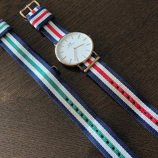 ダニエルウェリントン(Daniel Wellington)のダニエルウェリントン 腕時計 グリーンベルトセット!(腕時計(アナログ))