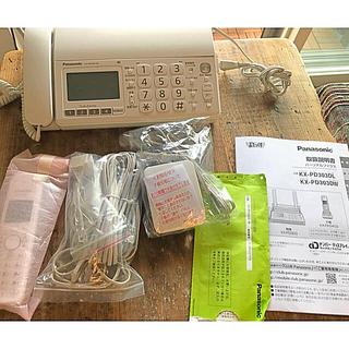 パナソニック(Panasonic)の(美品) Panasonic FAX付電話機(子機x1台付)(OA機器)