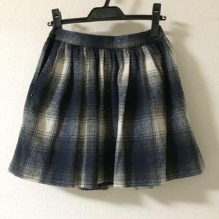 マーキュリーデュオ(MERCURYDUO)のマーキュリービジュー チェック柄スカート(ミニスカート)