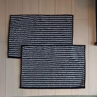 イケア(IKEA)の◆新品未使用◆ IKEA バスマット 2枚セット(バスマット)