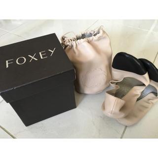 フォクシー(FOXEY)の新品☆FOXEY ルームシューズ 36(その他)