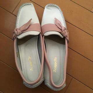アカクラ(Akakura)の新品 アカクラ  ピンク リボン(ローファー/革靴)