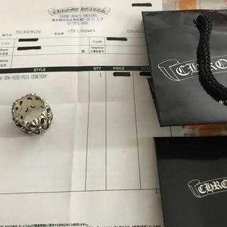 クロムハーツ(Chrome Hearts)のクロムハーツ セメタリークロスリング 21号 インボイス付き(リング(指輪))