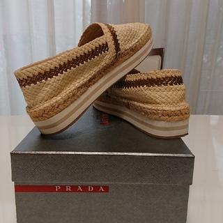 プラダ(PRADA)のPRADAシューズ(ローファー/革靴)