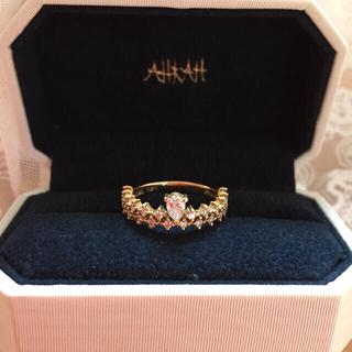 アーカー(AHKAH)のAHKAH  アーカー プリマヴェーラ リング(リング(指輪))