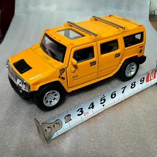 ハマー(HUMMER)の再値下げレア KiNSMART ハマーHummer H2 SUV プルバックカー(ミニカー)