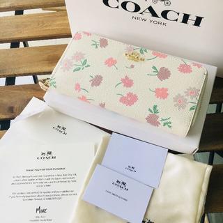 コーチ(COACH)のオシャレ COACH(コーチ) 長財布 ♡F55881 ピンク(財布)