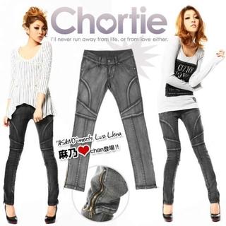 ショーティ(Chortie)のChortie ブラックデニム(デニム/ジーンズ)