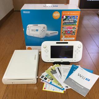 ウィーユー(Wii U)のWiiU 32GB 白 ファミリープレミアムセット (家庭用ゲーム本体)