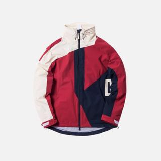 S kith madison jacket Navy Red off white(ナイロンジャケット)