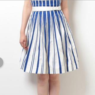 ツモリチサト(TSUMORI CHISATO)の新品 ツモリチサト スカート 定価33,480円 大幅値下げ‼️ラスト1点⭐︎(ひざ丈スカート)