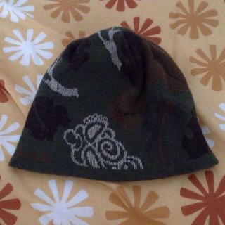 ヒステリックミニ(HYSTERIC MINI)のヒスミニ♡リバーシブルニット帽♡カモフラ(ニット帽/ビーニー)