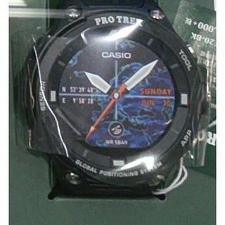 カシオ(CASIO)のカシオ プロトレック  PROTREK  WSD-F20-BK ブラック(その他)