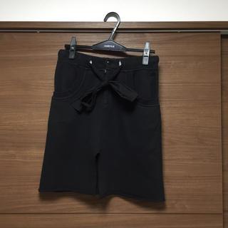 シースウェイ(seesway)のフロントスリット☆スウェットスカート(ひざ丈スカート)