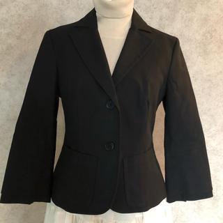 アンナモリナーリ(ANNA MOLINARI)のアンナ モリナーリ 素敵な黒ジャケット(テーラードジャケット)