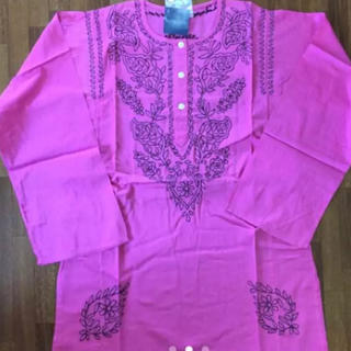 アンティックバティック(Antik batik)の涼しくて可愛い!★カラー選択必要‼︎★ANTIK BATIK刺繍 長袖カットソー(シャツ/ブラウス(長袖/七分))