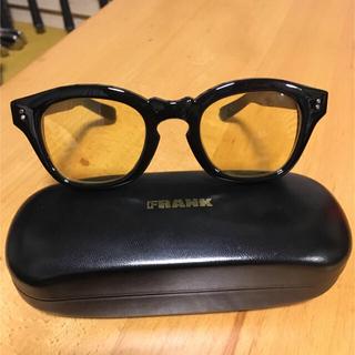 フランクワンファイブワン(Frank151)の【値下げ】FRANK カラーレンズサングラス イエロー(サングラス/メガネ)