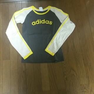 アディダス(adidas)のadidas ロングTシャツ 成人女性 Sサイズ(Tシャツ(長袖/七分))