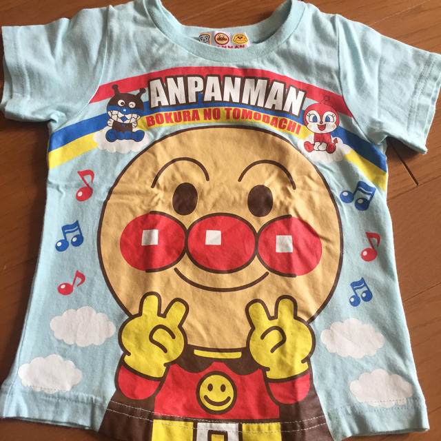 アンパンマン(アンパンマン)のアンパンマン 90 2枚セット キッズ/ベビー/マタニティのキッズ服男の子用(90cm~)(Tシャツ/カットソー)の商品写真