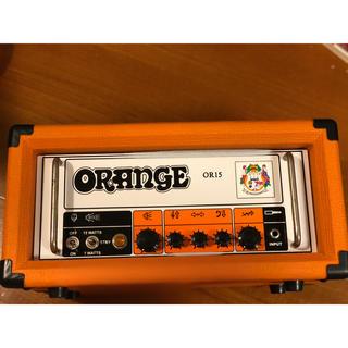 値下 手数料開始前特価 ORANGE amp OR15 オレンジ アンプ ヘッド(ギターアンプ)