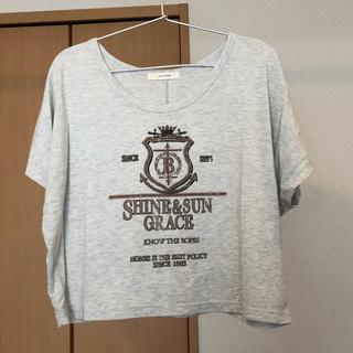 シンシア(cynthia)のショート丈Tシャツ(Tシャツ(半袖/袖なし))