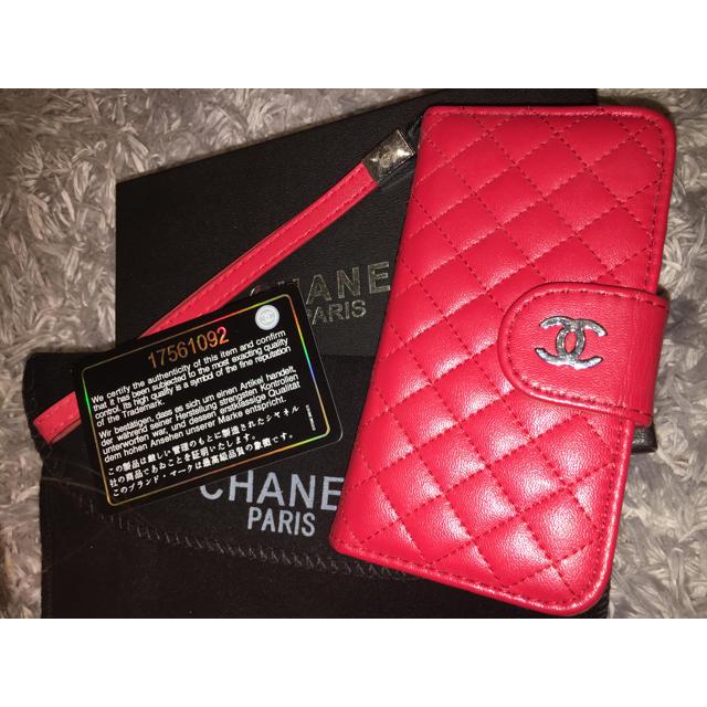 Chanel iphone7   名入れ可能♡ポップファー柄スマホケース♡iPhone以外も対応機種多数あり!の通販 by welina mahalo ラクマ