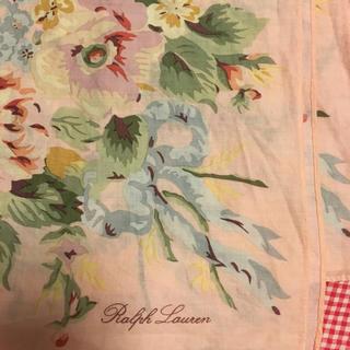 ラルフローレン(Ralph Lauren)のお値下げ ラルフローレン    コットンスカーフ(バンダナ/スカーフ)