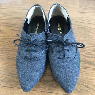 サヤラボキゴシ(SAYA / RABOKIGOSHI)のフラットシューズ  24ー〜小さめ24.5の方に(ローファー/革靴)