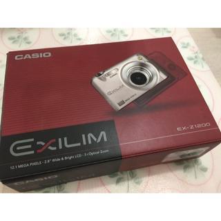 カシオ(CASIO)の【値下げ!】カシオ EXLIM EX-Z1200【デジカメ/美品】(コンパクトデジタルカメラ)