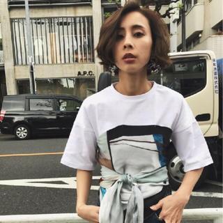 アメリヴィンテージ(Ameri VINTAGE)のアメリ Tシャツ スカーフ(Tシャツ(半袖/袖なし))