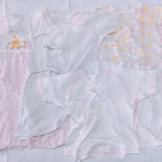 ニシマツヤ(西松屋)のまとめ売り 新生児ロンパース&肌着(肌着/下着)