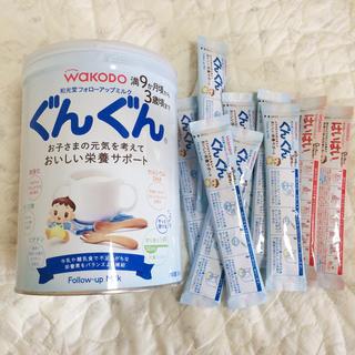 ワコウドウ(和光堂)のぐんぐん 缶 スティックミルク セット(乳液/ミルク)