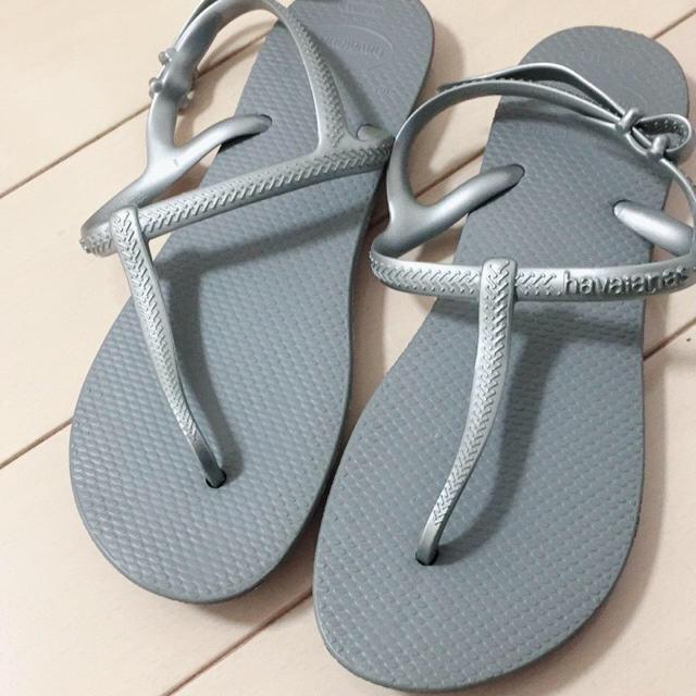havaianas(ハワイアナス)のハワイアナス♡ビーチサンダル ワンピース♡ レディースの靴/シューズ(ビーチサンダル)の商品写真