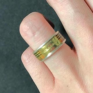 バーバリー(BURBERRY)のバーバリー 指輪 9号(リング(指輪))
