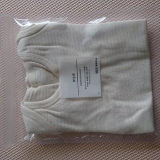 ムジルシリョウヒン(MUJI (無印良品))の無印良品 新生児 半袖ボディスーツ肌着(肌着/下着)