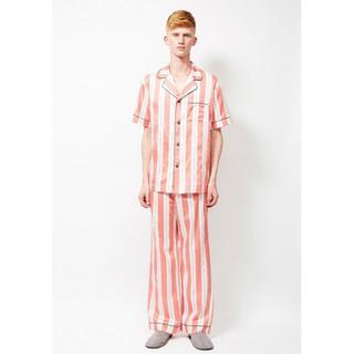 ロンハーマン(Ron Herman)の新品 日本製 Priv Spoons Club 高級パジャマ 上下セット 赤 L(その他)