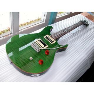 ポールスミス(Paul Smith)のPaui Reed Smith/ SE CUSTOM 24 Green 超美品!(エレキギター)
