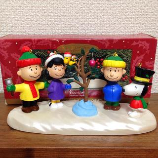 スヌーピー(SNOOPY)の30周年記念 スヌーピー フィギュア オーナメント ホールマーク クリスマス(アメコミ)
