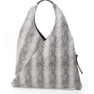 クーコ(COOCO)の新品 定価7452円 グレー バッグ 大幅値下げ⭐︎大特価‼️(トートバッグ)