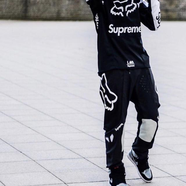 Supreme シュプリーム のl Fox Racing Moto Pant Black 黒 メンズのパンツ