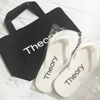 セオリー(theory)の《theory》 ノベルティ ビーチサンダル(ビーチサンダル)