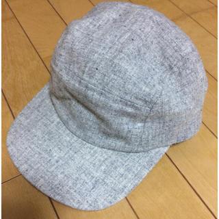 ランチキ(RANTIKI(乱痴気))のEBBETS FIELD × 乱痴気 フランネルcap/ Light Grey(キャップ)