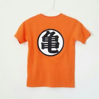 ドラゴンボール(ドラゴンボール)の140cm【ドラゴンボール】オレンジ半袖Tシャツ(Tシャツ/カットソー)